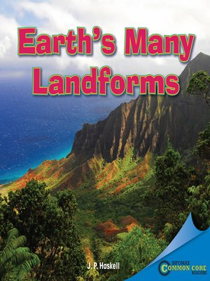 cover image of Earth's Many Landforms